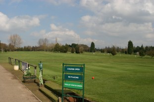 Start your round with a long drive down the 1st hole.
