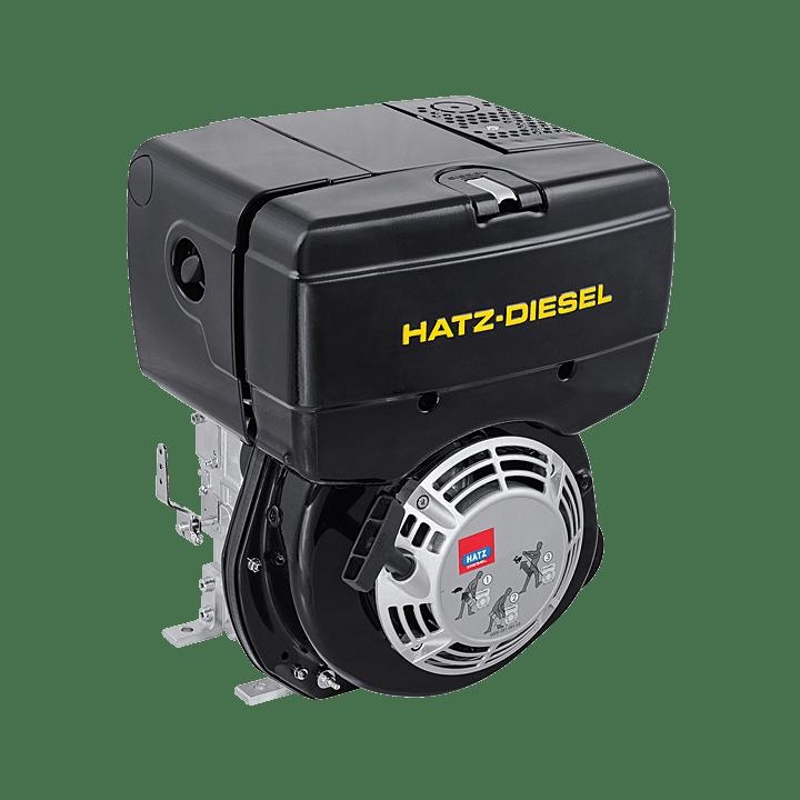 John Deere 950 Wiring Diagram For Alternator Hatz 1b20 Diesel Engine Electric Start Melton Industries