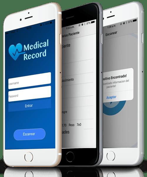 Tipos de Usuario medical Record