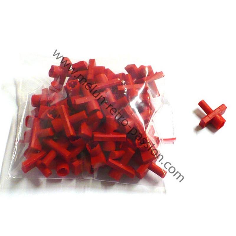 agrafe plastique 5 mm renault sachet de 50