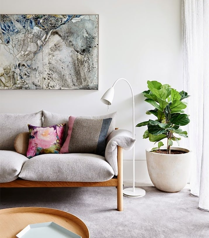 next home living room accessories pictures of colour schemes for rooms 9 gorgeous ways to decorate with plants melyssa griffin decor
