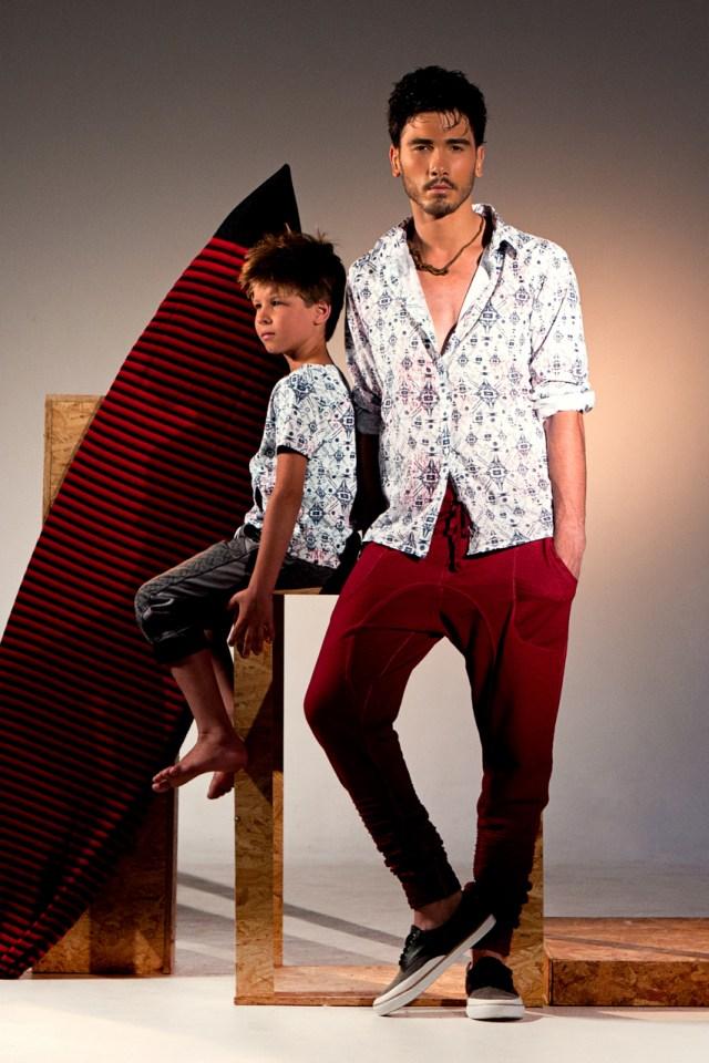 Coleção da Fakini para o SCMC inspirada no surfista Teco Padaratz. Imagem: Douglas Sielski  - Wide Studio