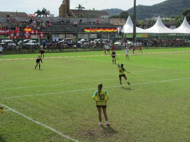Seleção feminina do Brasil enfrenta a Áustria na semifinal   Imagem: Marina Melz/ Divulgação