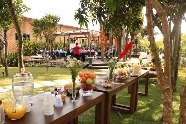 Experience aconteceu no jardim do Estúdio Elaiá. Imagem: Paula Cardoso