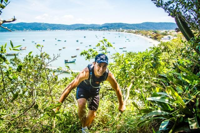 Circuito de corridas em trilhas faz parte do projeto Nas Trilhas da Costa Esmeralda. Imagem: Lúcio Rila