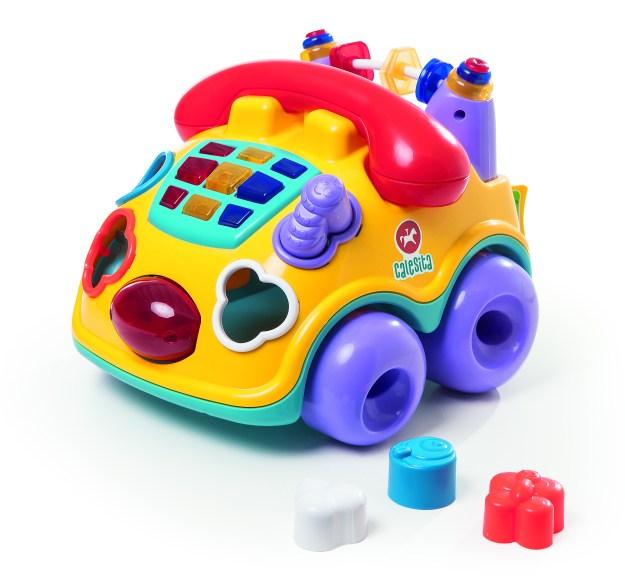 Falafone será um dos lançamentos da Calesita Brinquedos durante a Abrin 2015. Imagem: Divulgação