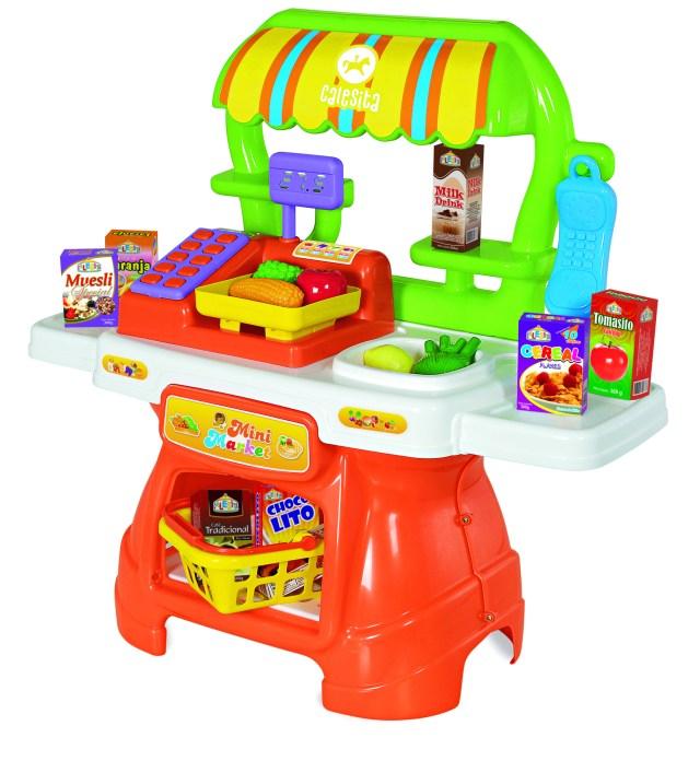 As crianças adoram brincar de mercado e pode ser uma ótima opção para os dias frios, dentro de casa. Imagem: Divulgação