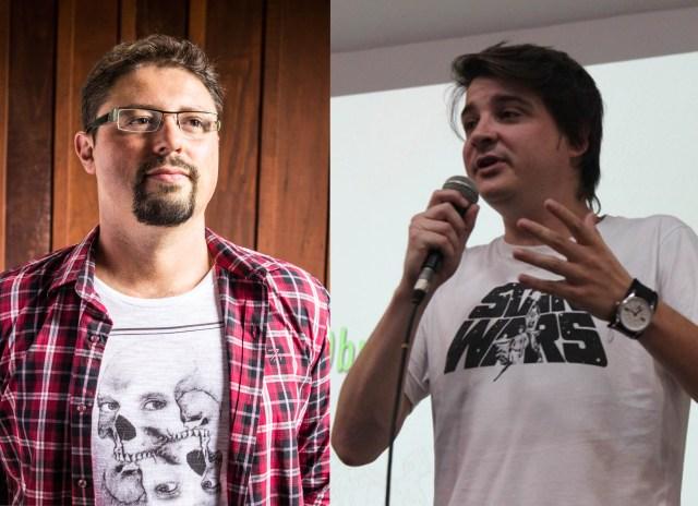 André Telles e Marcel Bely palestram em Blumenau. Imagem: Divulgação