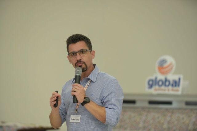Roberto Vilela falou sobre gestão e investimentos em processos e tecnologia. Imagem: Divulgação
