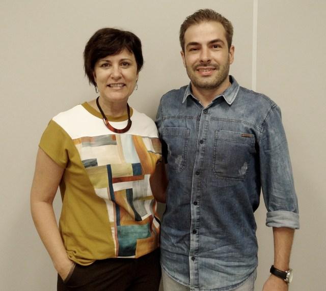Amélia Malheiros e Francis Girgio Fachini assumem a frente do SCMC no biênio 2016-2017. Imagem: Junior Gama/Divulgação