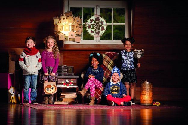 Conceito da coleção foi inspirado nas brincadeiras que os pequenos podem fazer em casa. Imagem: Actonove Fashion Photography