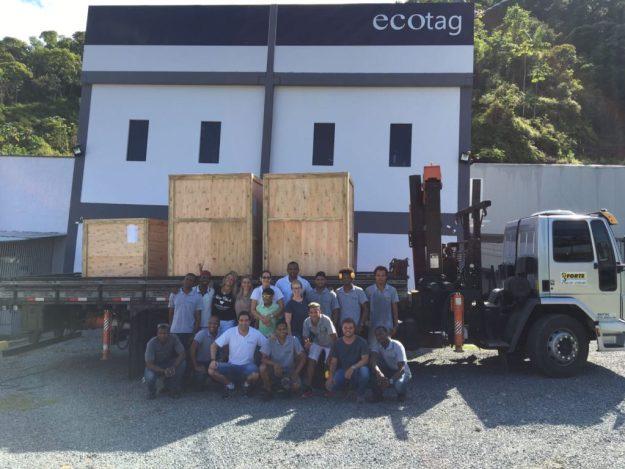 Ecotag - 170202 - Entrega dos equipamentos (Divulgação)