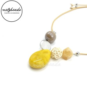 Chloe Yellow Necklace