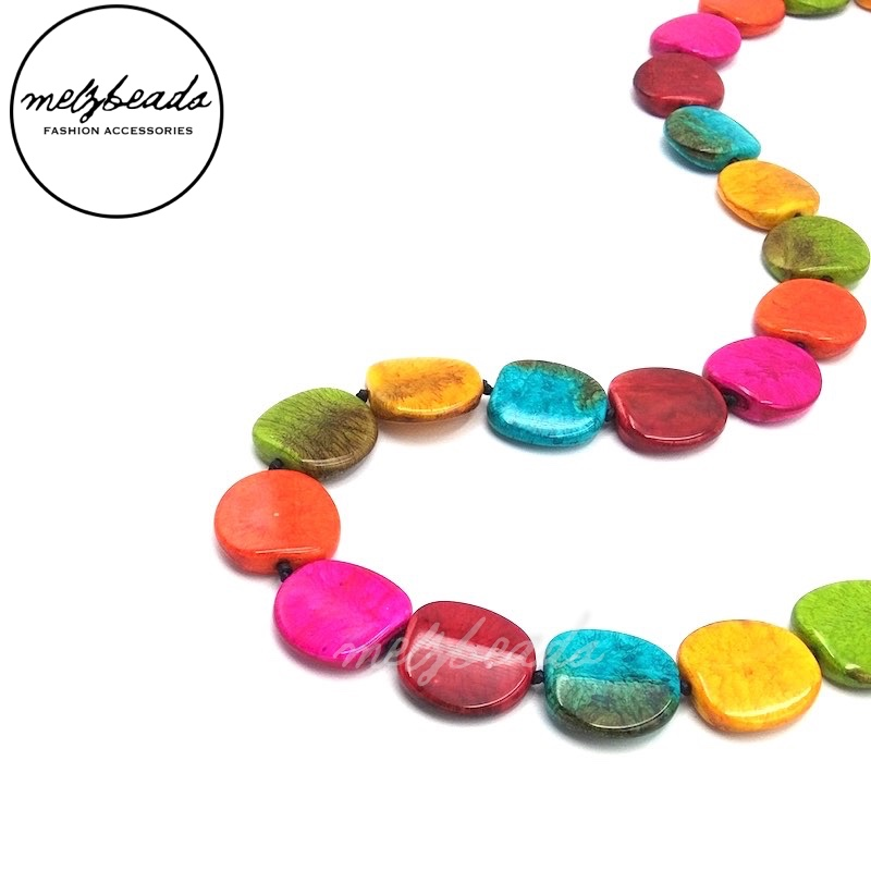 Multi-Coloured Mix Necklace