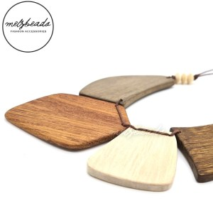Natural Tribal Wooden Necklace