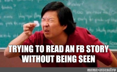 meme trying to read