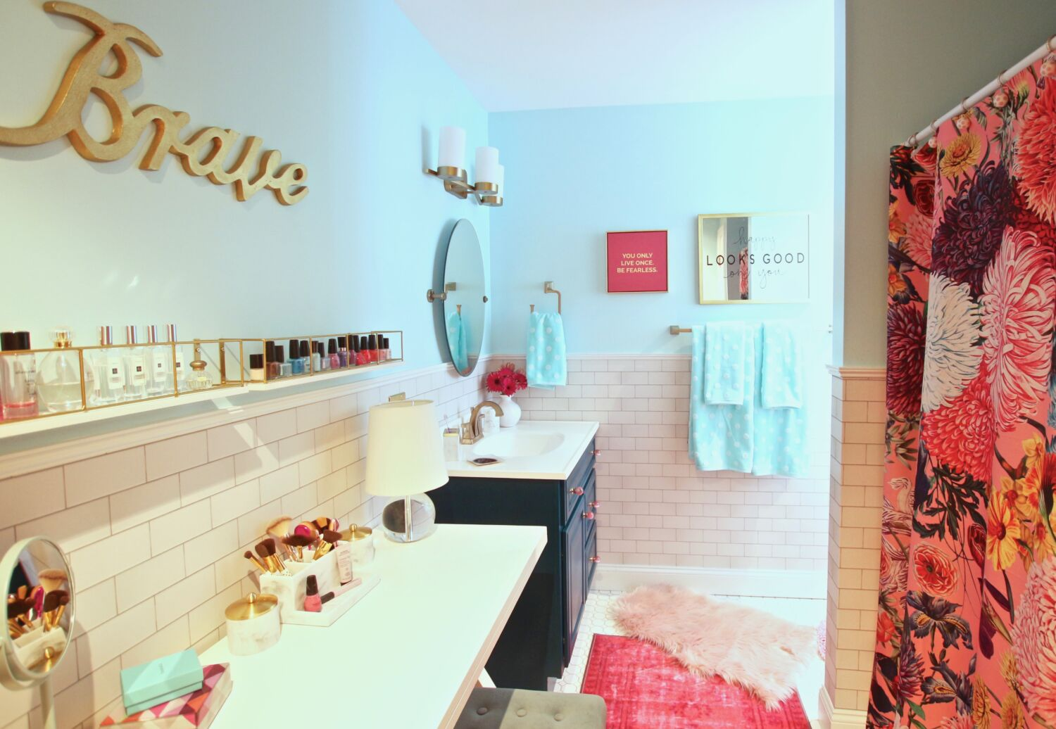 Surprise Her With A Chic Valentine S Day Bathroom Makeover