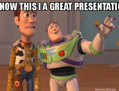 Image result for presentation meme