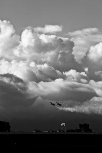 Blue Angels in the Clouds - San Francisco 2011