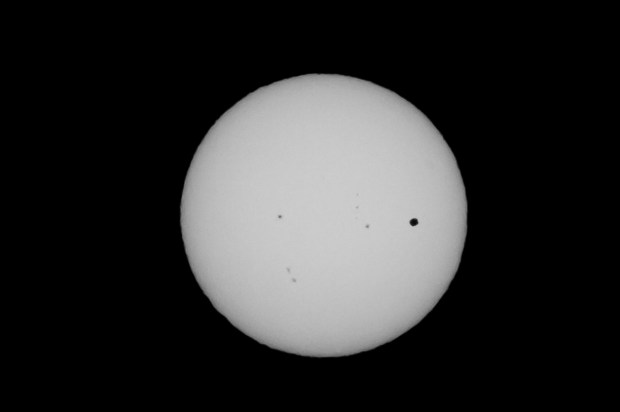 Transit of Venus 2012 - San Francisco