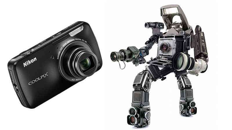 Eye Robot: Nikon Introduces Android Powered Camera