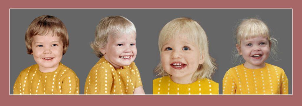 4 Generations - 1 Dress - Photo restoration at Memento Press