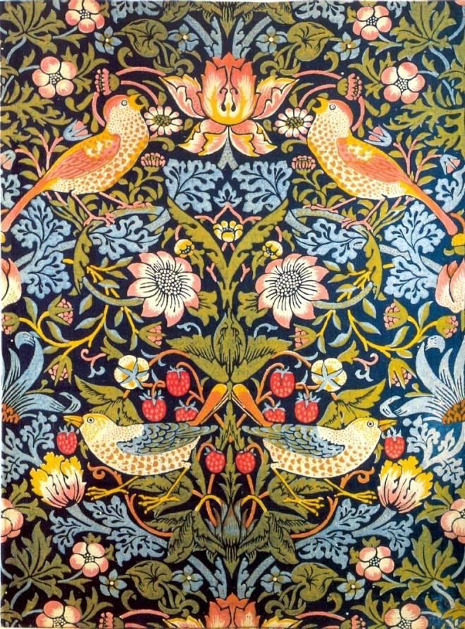 William Morris - The Strawberry Thief
