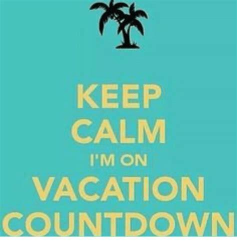 Vacation Countdown Memes