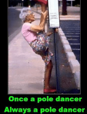 Pole dancing Memes