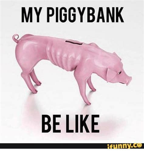 Skinny Piggy Bank Memes