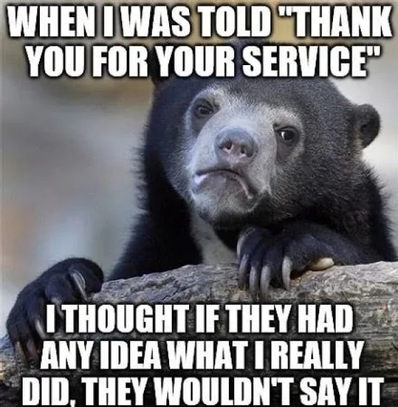 Thank you for your service Memes
