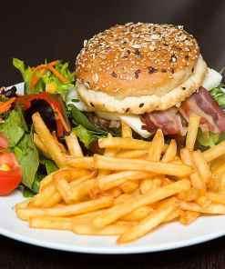 Hamburger Teller