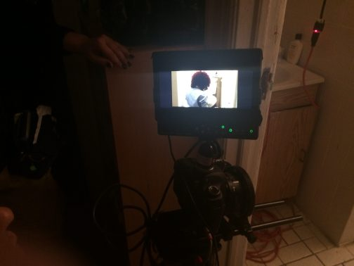January 2015 Shooting Sarah Schoofs in the Bathroom