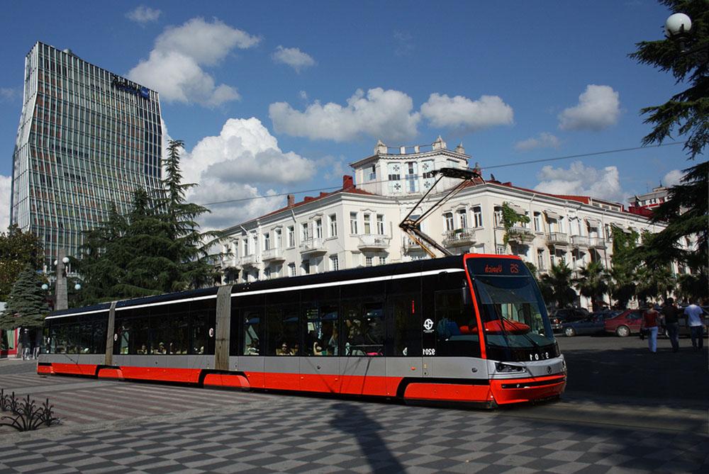 Tram in Batumi