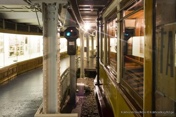 ბუდაპეშტის მეტროს მუზეუმი - მე მოგზაური
