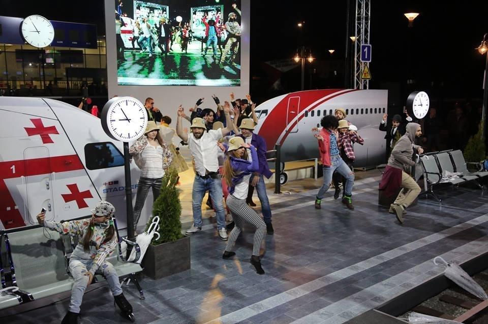 ქუთაისის აეროპორტთან რკინიგზა უკვე მივიდა - მე მოგზაური