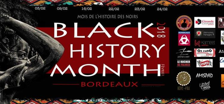 BLACK HISTORY MONTH – Les Regards pluriels de Bordeaux du 3 au 24 février 2018