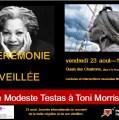 BORDEAUX 23 & 25 AOÛT- De Modeste Testas à Toni Morrison