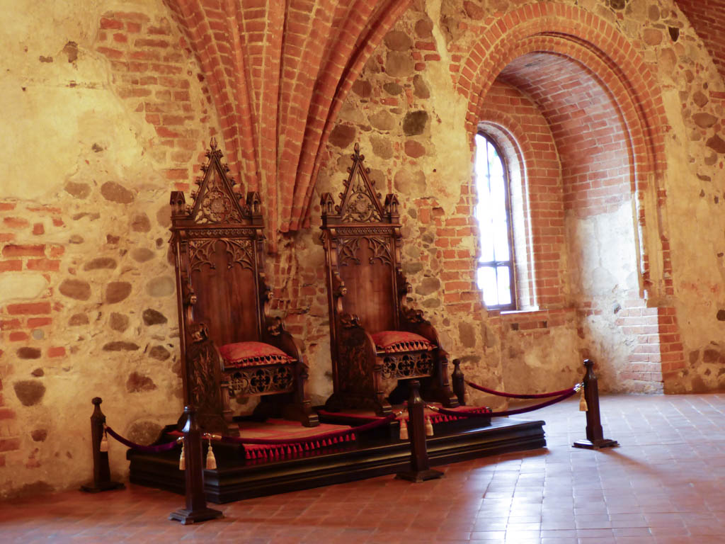 Trakai Castle Throne Room