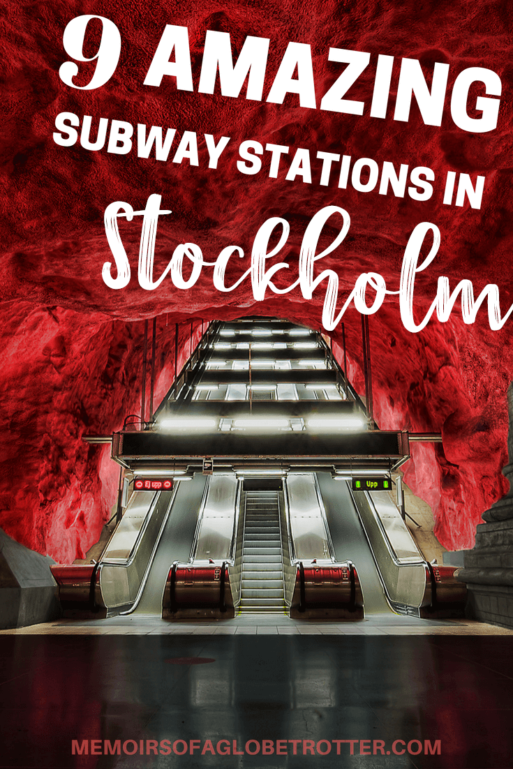 Discover the amazing hidden underground world of Stockholm's metro! Many of Stockholm's stations are decorated in incredible art. It is one of the most beautiful subway systems in all of Europe!