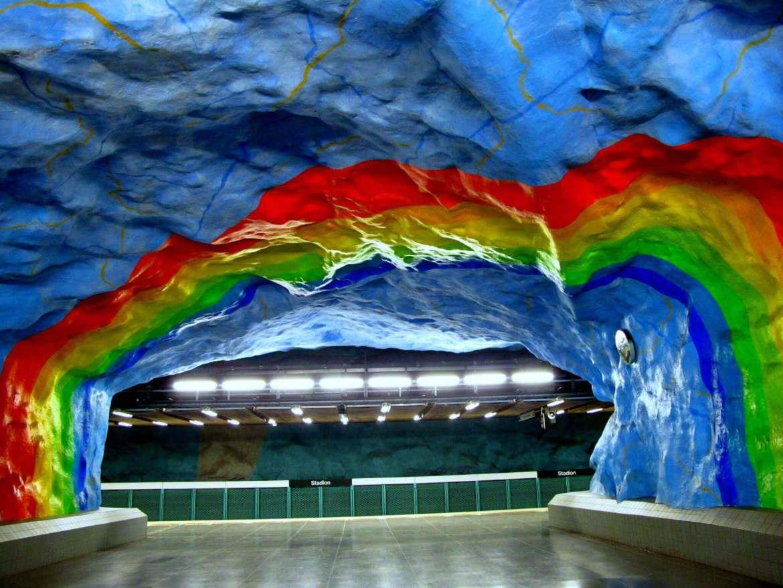 Stadion Station in Stockholm