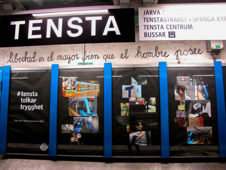 Tensta Station