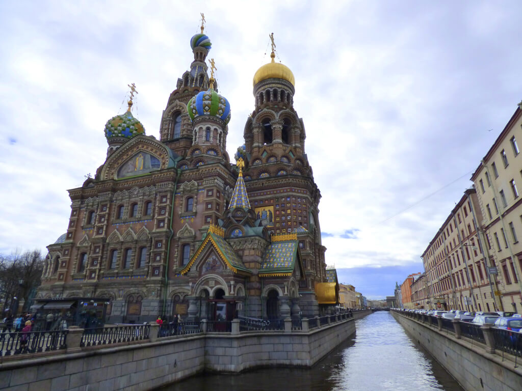 Church of the Spilled Blood in St. Petersburg