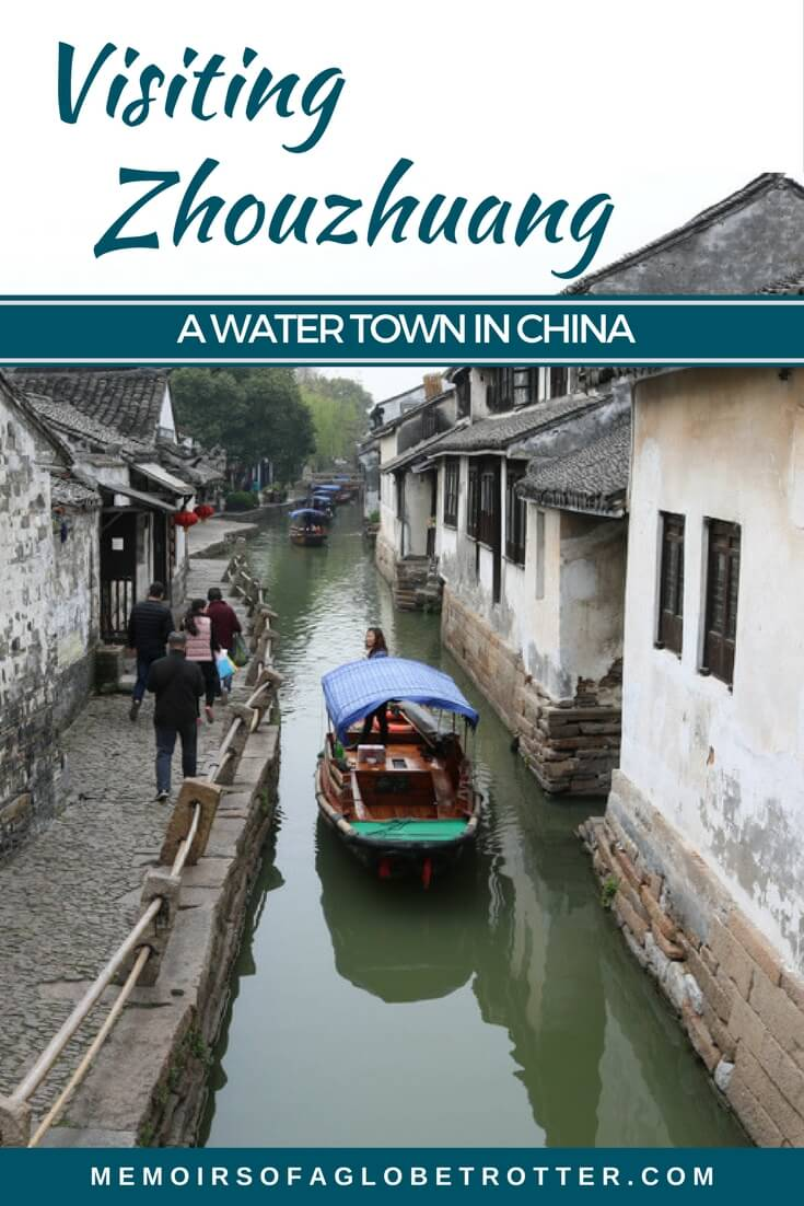 "Zhouzhuang Water Town is a town near Shanghai, China that is famous for its canals and bridges. It is often called ""the Venice of the East""."