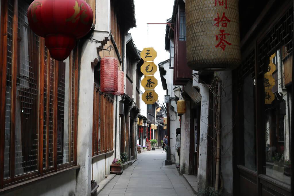 Zhouzhuang Water Town Street