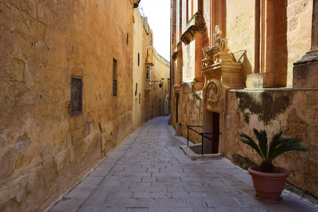 Mdina, where some scenes from Game of Thrones were filmed