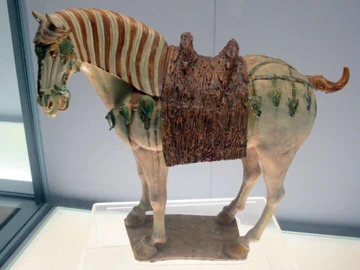A horse statue at Shanghai Museum