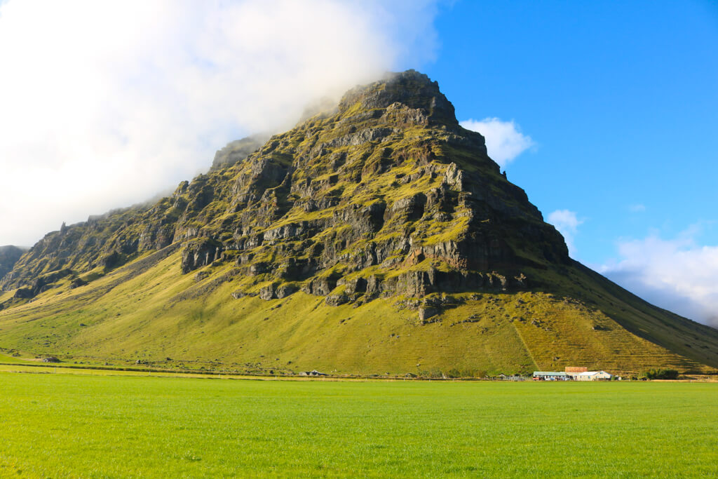 Scenery in South Iceland near Vik