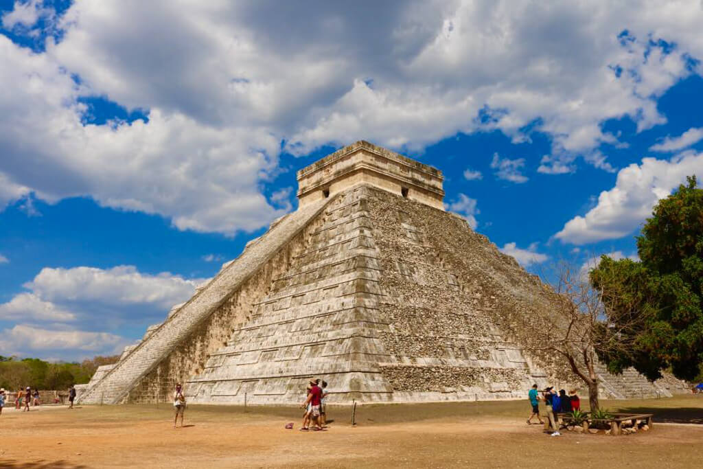 The Pyramid of Kukulcan, Chichen Itza