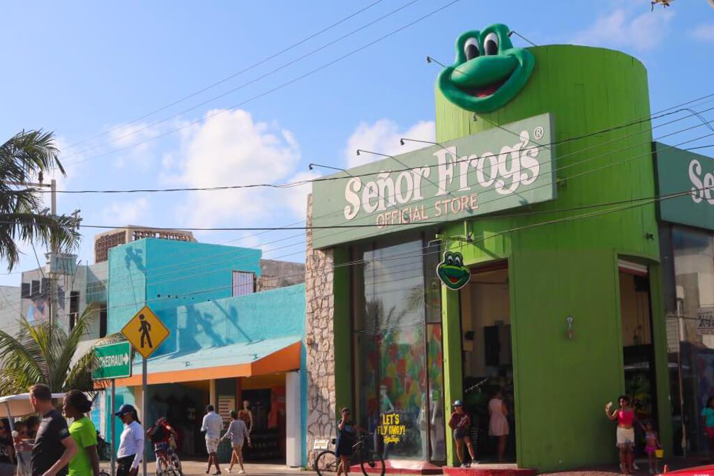 Senor Frog's in Isla Mujeres, Mexico